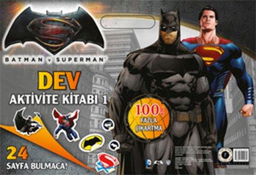 Batman Ve Superman Dev Aktivite Kitabı 1disney Starwars çıkartma