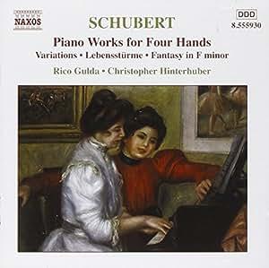 Schubert: Piano Works for 4 Hands