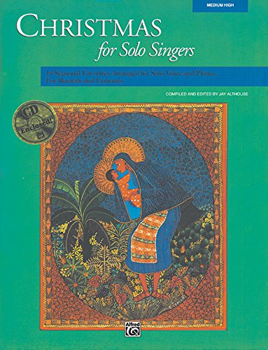 Christmas for Solo Singers: Medium High Voice, Book & (Christmas Songs Singers)
