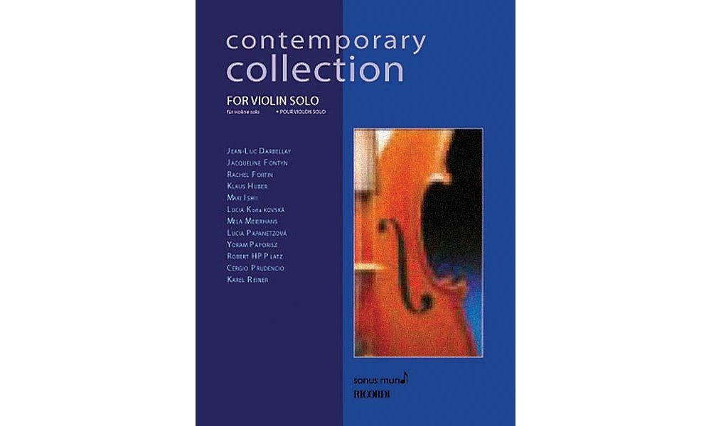 Download Ricordi Contemporary Collection for Violin Solo String Solo Series Softcover pdf epub