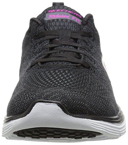 Skechers Valeris - Zapatillas Mujer Negro/Blanco