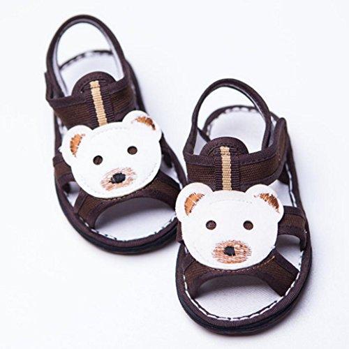DM&Y 2017 Estate sandali freddi fatti a mano scarpe di cotone Melaleuca suole coffee bear