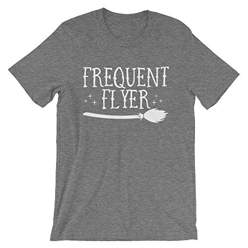 Halloween T-Shirt - Frequent Flyer Deep Heather