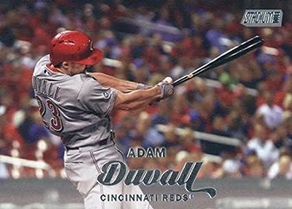 4f1b18cb3 Amazon.com  2017 Topps Stadium Club  22 Adam Duvall Cincinnati Reds ...