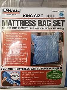 Amazon Com Uhaul King Mattress Bag Set With Built In