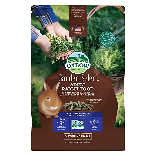 Oxbow Adult Rabbit Food- 4lb Bag- Garden Select