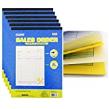 6 Sales Order Carbon Receipt Book Record Keeping 2 Part 30 Sets Copy 8.5'' x 11''
