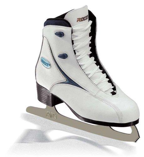Roces 450511 Women's Model RFG 1 Ice Skate, US 5, White