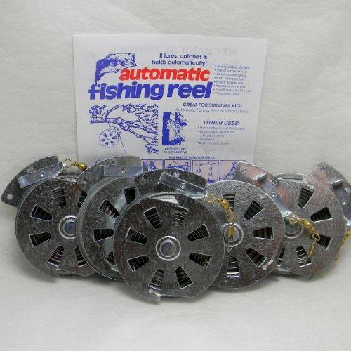 Mechanical Fisher's Yo Yo Fishing Reel Automatic (5 Reels), Outdoor Stuffs