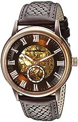 Tommy Bahama Swiss Men's TB1276 Willington Automatic Analog Display Japanese Quartz Brown Watch