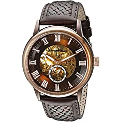 Tommy Bahama Swiss Men's TB1276 Willington Casual Analog Display Japanese Quartz Brown Watch