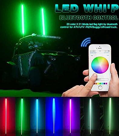 TheOne 20 colores 200 combinaciones antena bandera ATV UTV ...