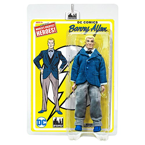Flash Retro 8 Inch Action Figures Series 1: Barry - Retro Flash
