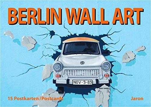 Berlin Wall Art: 15 Postkarten / Postcards