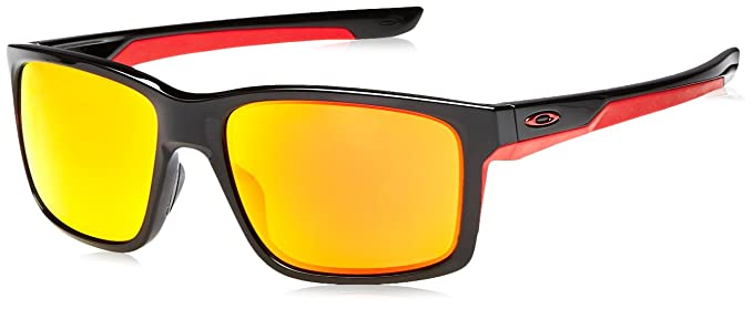 17447d256bdb5 Image Unavailable. Image not available for. Color  Oakley Men s Mainlink  Polarized Rectangular Sunglasses