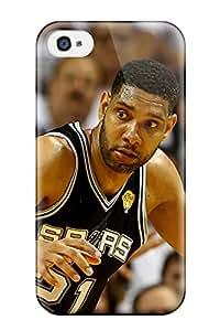 For Iphone 4/4s Fashion Design San Antonio Spurs Basketball Nba Miami Heat Case-PcZPWSf2286TWzAh