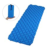 GWHOLE Large Sleeping Pad 75x26 inch, Inflatable Sleeping Mattress Mat Light Weight, Compact