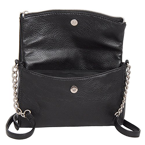 0dcd0e183d5d Kenneth Cole Reaction KN1523 JAZZ Mini Crossbody Messenger Bag (Black) -  Buy Online in UAE.