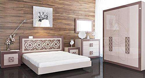 Schlafzimmer Komplett mit Kleiderschrank 137 cm 6581 ...