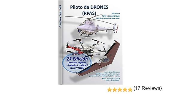 Piloto de DRONES (RPAS): Volumen I - Parte I. Las aeronaves. eBook ...