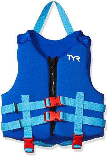 TYR Kids Life Vest, Blue, One Size