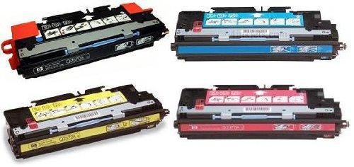 AZ Compatible with HP 308A, 311A (Q2670A, Q2681A, Q2682A, Q2683A) 4 Color Toner Cartridge Sets for Color Laserjet 3700, Color Laserjet 3700dn, Color Laserjet 3700dtn, Color Laserjet 3700n