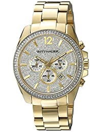 WITTNAUER Men's WN3051 22mm Stainless Steel Gold Bracelet Watch
