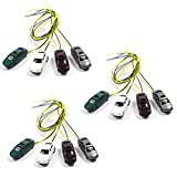 #10: EC150 12pcs 1:150 N Scale Model Lighted Cars With 12V LEDs for Building Layout NEW