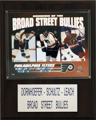 - NHL Dornhoefer-Schultz-Leach Philadelphia Flyers Player Plaque