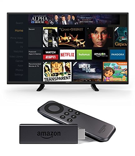 Seiki SE43FK 43-Inch 1080p 60Hz LED TV and Amazon Fire TV Stick review