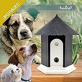 UPGRADED Ultrasonic Outdoor Dog Bark Controller in Anti-Bark Training Birdhouse Shape