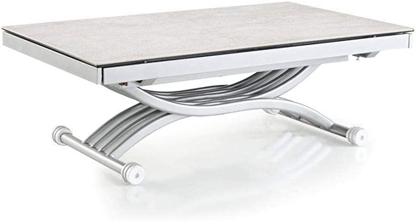 Inside Table Basse Newform Relevable Extensible Plateau En