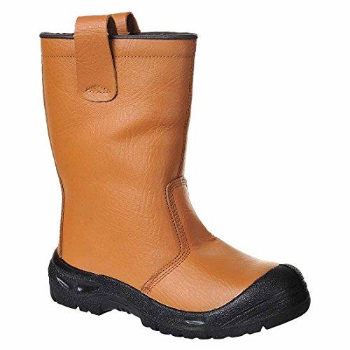 SUW–Steelite Rigger Workwear Sicherheitsstiefel Gebrauchsspuren knöchelpartie S3CI, EU 39 - UK 6, hautfarben, 1 hautfarben