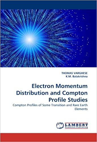 Book Electron Momentum Distribution and Compton Profile Studies: Compton Profiles of Some Transition and Rare Earth Elements