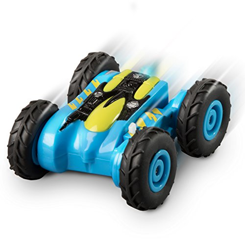 "Turbo Stunt Mini RC Car – ""Strongarm"" Mini RC Cars Collection Toy Remote Control Car with Long Lasting Rechargeable Battery for Ages 5+ (Color May Vary)"