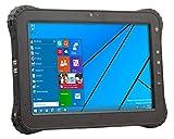 Vanquisher 10-Inch Rugged Tablet, Windows 10 / Intel Atom Quad Core CPU / Anti-scratch Corning Gorilla Panel / IP65 / U-blox GPS Module, For Field Applications