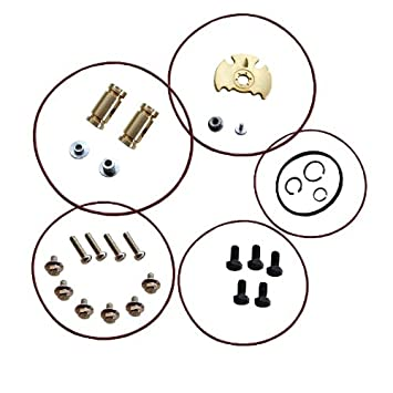 Amazon.com: Turbo Rebuild Kit for 05 Nissan Navara YD25 2.5L with ...