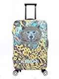 Myosotis510 3D Animals Travel Luggage Cover Trolley Case Protective Bag 18-32 Inch