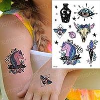 tzxdbh Tatuaje Temporal Gato Tatuaje y Arte Corporal calcomanía ...