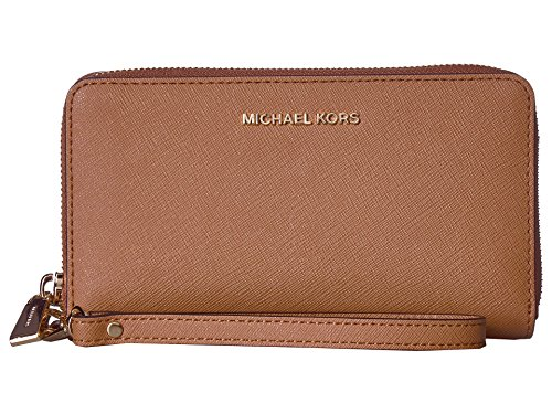 Michael Kors Jet Set Travel Large Smartphone Wristlet - Acorn