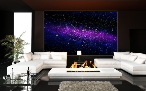 Free shipping galaxy in the universe photo wallpaper for Decor mural xxl
