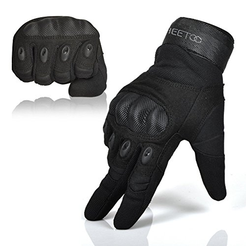 Freetoo-Mens-Outdoor-Gloves-Full-Finger-Cycling-Motorcycle-Gloves