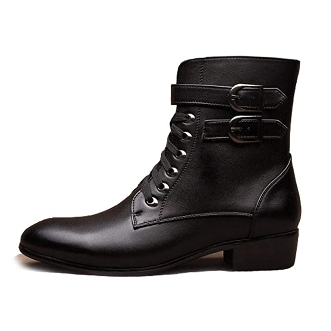 Botas Chelsea Para Hombre Otoño E Invierno Botas Martin Botas Cortas Botas Sencillas Simples Casuales Botines Botas De Caballero Zapatos Para Caminar Al ...