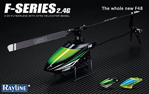 Jouetprive-Hélicoptère radiocommandé F-Series 48 2,4GHz 4 canaux