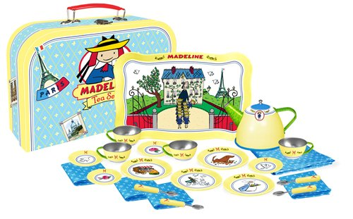 Madeline Tea Set (Madeline Tin Tea Set 24 Pieces)