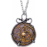 Anguistralobe Astrolabe Pendant Necklace by Alchemy Gothic