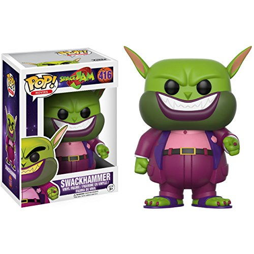 Funko Swackhammer: Space Jam x POP! Movies Vinyl Figure & 1 POP! Compatible PET Plastic Graphical Protector Bundle [#416 / 12431 - B]