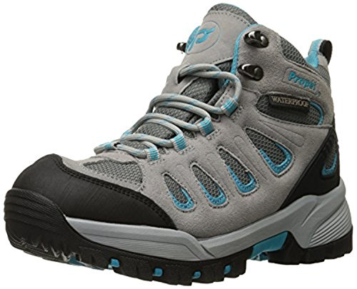 Women's amp; Oxy Lt Walker Propet Bundle Cleaner Ridge Turquoise Boot Grey 1IwdAqp