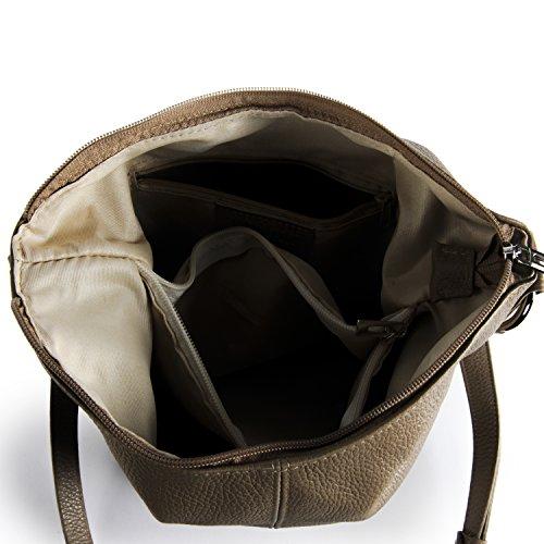 Beaubourg Taupe Sac Clair My À Main Bag En Cuir Oh 8wUqp