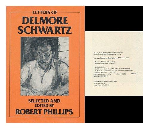 Letters of Delmore Schwartz